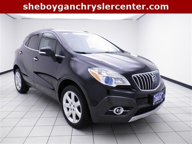 Used 2015 Buick Encore Leather SUV For Sale in Sheboygan, WI