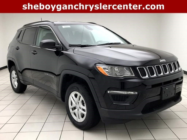 New 2019 Jeep Compass SPORT 4X4 Sport Utility For Sale in Sheboygan, WI