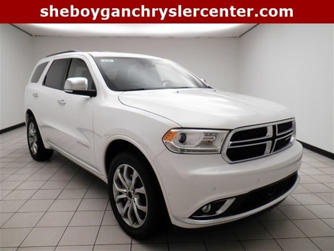 New 2018 Dodge Durango CITADEL ANODIZED PLATINUM AWD Sport Utility For Sale/Lease Sheboygan, WI