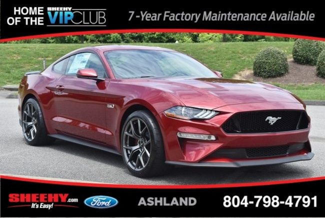 New Ford and Lincoln vehicles 2019 Ford Mustang GT Premium Coupe for sale near you in Ashland, VA