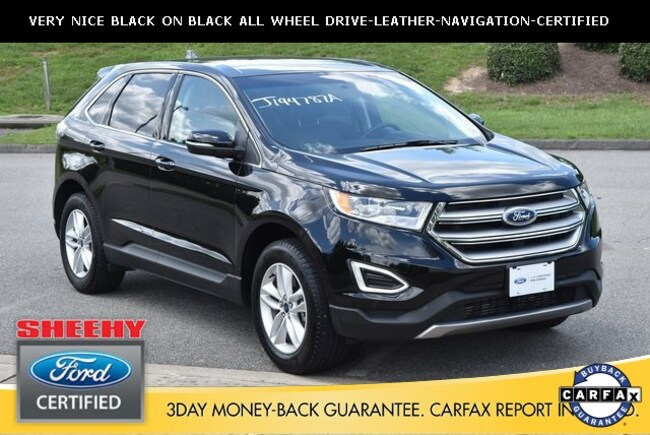 Used 2017 Ford Edge SEL SUV in Ashland, VA