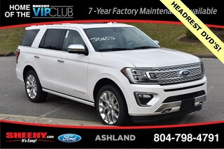 New 2019 Ford Expedition Platinum SUV for sale near you in Ashland, VA