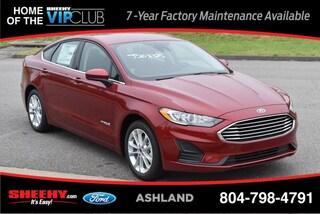New 2019 Ford Fusion Hybrid SE Sedan for sale near you in Ashland, VA