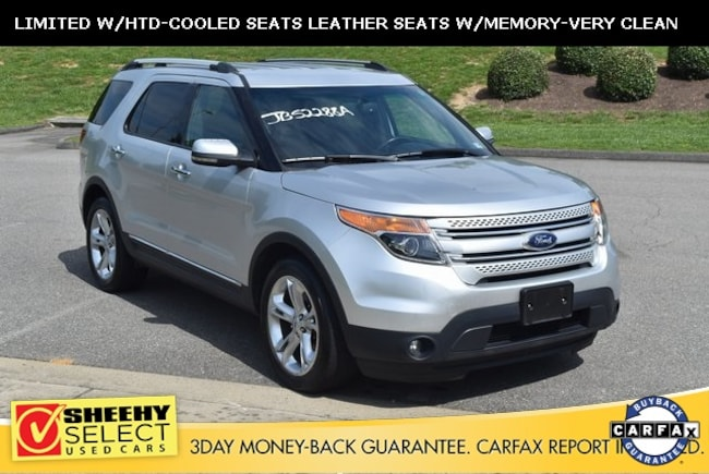 Used 2015 Ford Explorer Limited SUV in Ashland, VA