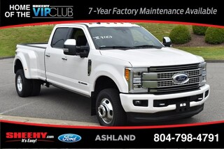 New 2019 Ford F-350 Platinum Truck Crew Cab for sale near you in Ashland, VA