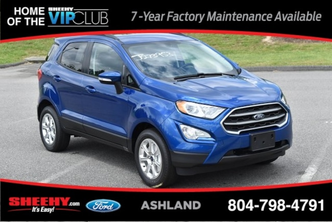 New Ford and Lincoln vehicles 2019 Ford EcoSport SE SUV for sale near you in Ashland, VA