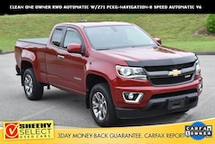 2017 Chevrolet Colorado Z71 Truck Extended Cab for sale near you in Ashland, VA
