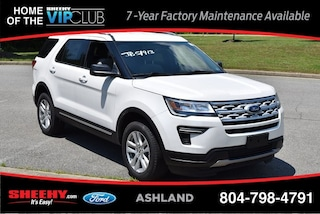 New 2019 Ford Explorer XLT SUV for sale near you in Ashland, VA