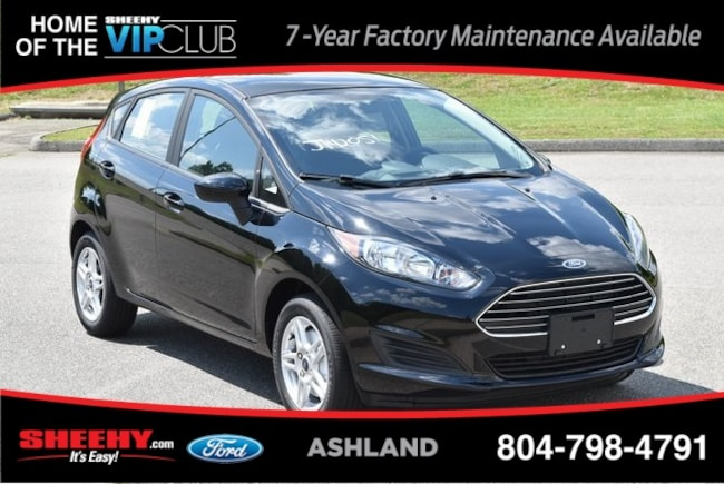New Ford and Lincoln vehicles 2019 Ford Fiesta SE Hatchback for sale near you in Ashland, VA