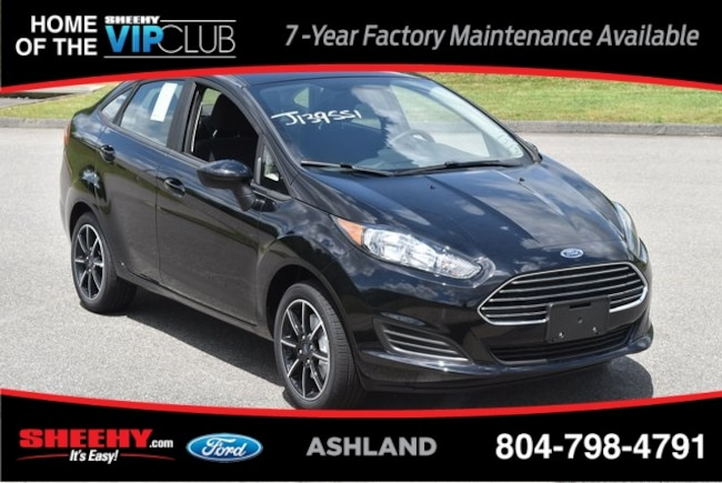 New Ford and Lincoln vehicles 2019 Ford Fiesta SE Sedan for sale near you in Ashland, VA