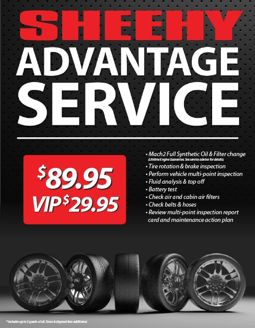 The Sheehy Advantage Service Package | Sheehy Ford of Ashland