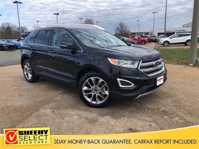 Featured Used 2018 Ford Edge Titanium SUV for sale near you in Richmond, VA