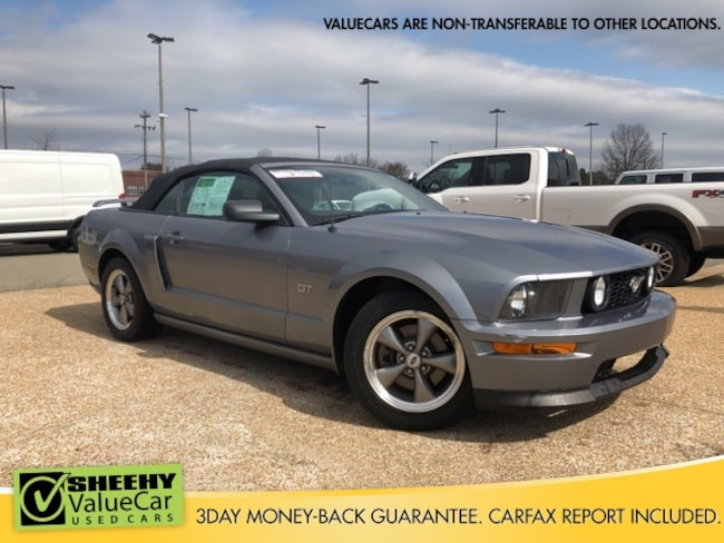 Bargain 2006 Ford Mustang GT Deluxe Convertible near Richmond, VA