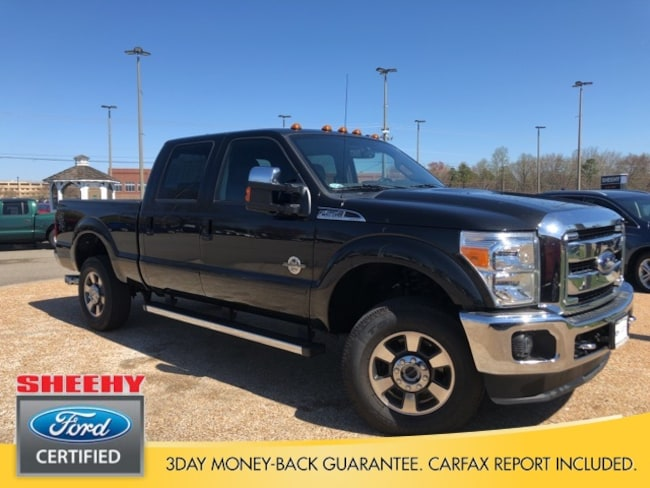 Certified Pre-Owned 2015 Ford F-250 Lariat Truck Crew Cab in Richmond, VA