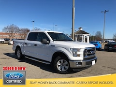 Certified Pre-Owned Ford vehicles 2016 Ford F-150 XLT Truck SuperCrew Cab NF88229A for sale near you in Richmond, VA