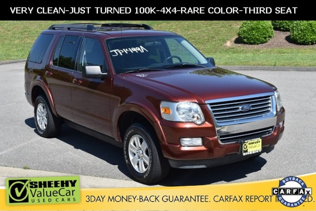Bargain used vehicles 2010 Ford Explorer XLT SUV for sale near you in Ashland, VA