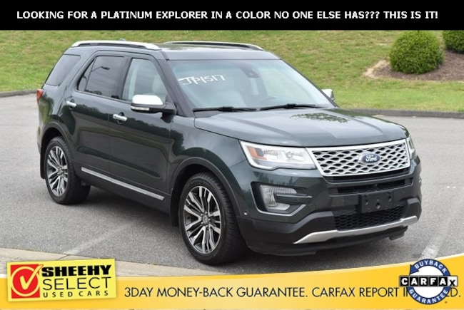 Used vehicles 2016 Ford Explorer Platinum SUV for sale near you in Ashland, VA