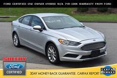 Certified Pre-Owned 2017 Ford Fusion Hybrid SE Sedan JB35579A for sale near you in Ashland, VA