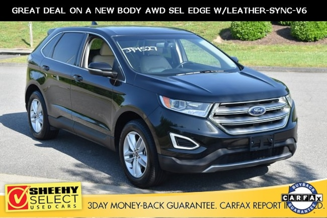 Used vehicles 2015 Ford Edge SEL SUV for sale near you in Ashland, VA