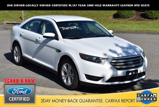 Certified Pre-Owned Ford vehicles 2017 Ford Taurus SEL Sedan for sale near you in Ashland, VA