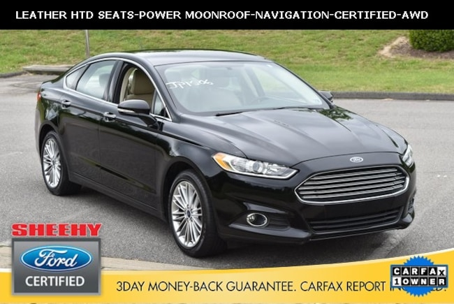 Certified Pre-Owned Ford vehicles 2016 Ford Fusion SE Sedan for sale near you in Ashland, VA
