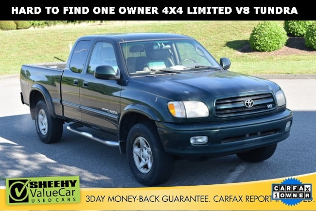 Bargain used vehicles 2002 Toyota Tundra Limited Truck Access Cab for sale near you in Ashland, VA