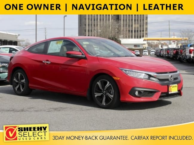 Used 2017 Honda Civic Touring Coupe for sale in Waldorf, MD