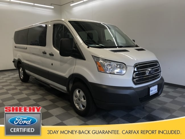 Certified Pre-Owned Ford 2017 Ford Transit-350 XLT Wagon Low Roof Wagon for sale near you in Warrenton, VA