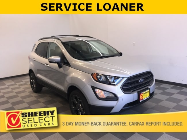 Sheehy Select used vehicles 2018 Ford EcoSport SES SUV for sale near you in Warrenton, VA