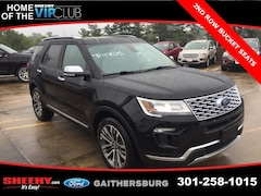 New 2018 Ford Explorer Platinum SUV CGC47625 Gaithersburg, MD