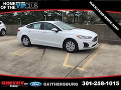 New 2019 Ford Fusion S Sedan CR112285 Gaithersburg, MD