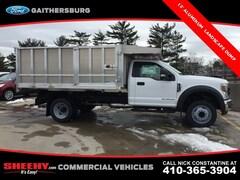 New 2019 Ford F-450 Chassis 12 Aluminum Maxscaper DRW Truck Regular Cab CDA02721 Gaithersburg, MD