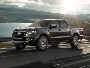 FORD RANGER IS THE MOST FUEL EFFICIENT GAS-POWERED MIDSIZE PICKUP IN AMERICA. **