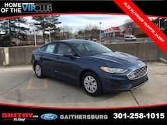 New 2019 Ford Fusion S Sedan CR162826 Gaithersburg, MD