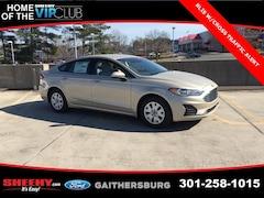 New 2019 Ford Fusion S Sedan CR194394 Gaithersburg, MD