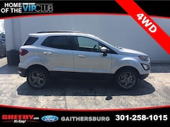 New 2018 Ford EcoSport SES SUV CC213561 Gaithersburg, MD