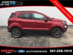 New 2018 Ford EcoSport SES SUV CC173899 Gaithersburg, MD