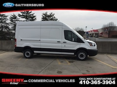 New 2019 Ford Transit-350 Base w/Sliding Pass-Side Cargo Door Van High Roof Cargo Van CKA41710 Marlow Heights MD