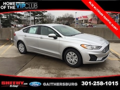 New 2019 Ford Fusion S Sedan CR162827 Gaithersburg, MD