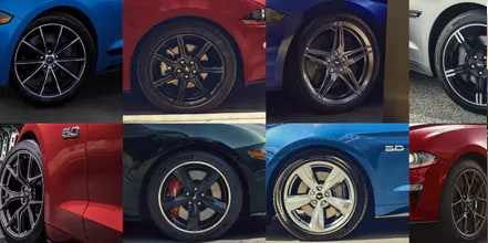 Choose your wheels.