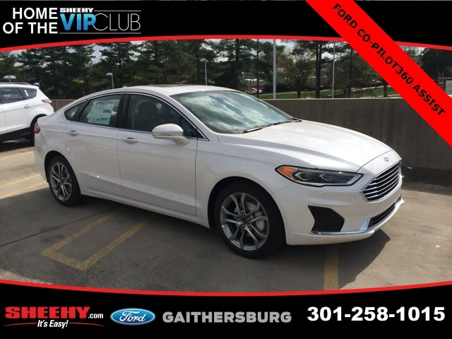 Featured New 2019 Ford Fusion SEL Sedan for sale near you in Gaithersburg, MD