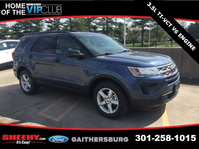 New 2019 Ford Explorer Base SUV in Gaithersburg, MD