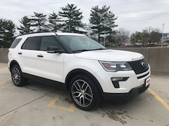 New 2018 Ford Explorer Sport SUV CGA40396 Gaithersburg, MD