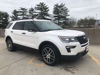 New 2018 Ford Explorer Sport SUV CGA40396 for sale near you in Ashland, VA