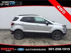 New 2018 Ford EcoSport SES SUV CC183722 Gaithersburg, MD
