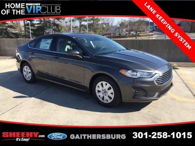New 2019 Ford Fusion S Sedan in Gaithersburg, MD