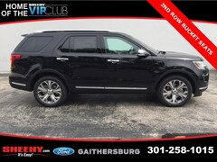 New 2018 Ford Explorer Platinum SUV CGB85678 Gaithersburg, MD