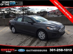 New 2019 Ford Fusion S Sedan CR162825 Gaithersburg, MD