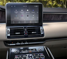 center touchscreen