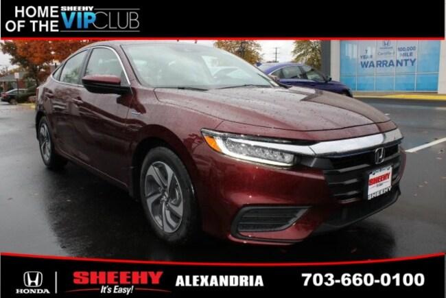 New Honda vehicle 2019 Honda Insight LX Sedan for sale near you in Alexandria, VA